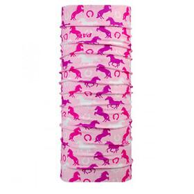 P.A.C. Kids UV Protector + Halsbedekking roze
